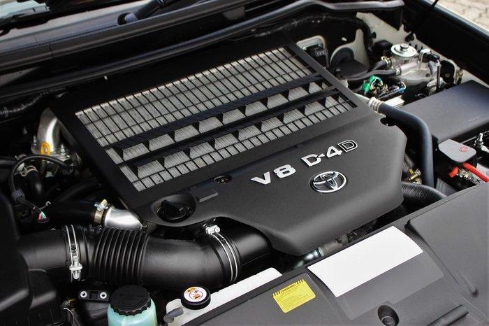 2019 Toyota Landcruiser VX VDJ200R 4X4 Dual Range White