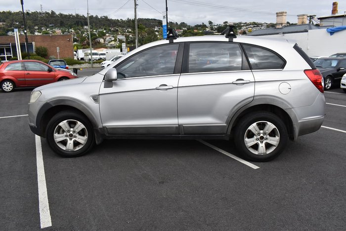 2007 Holden Captiva SX CG MY08 4X4 On Demand Silver