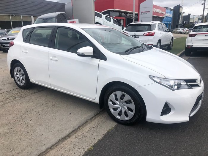 2013 Toyota Corolla Ascent ZRE182R White