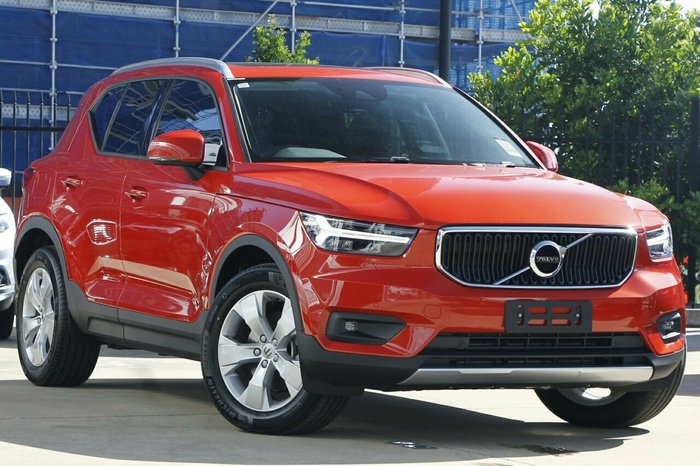 2020 Volvo Xc40 T4 Momentum 2.0L T/P 140kW 8Spd AT Wagon Coral Red