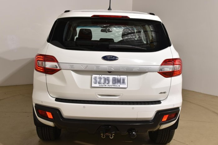 2017 Ford Everest Ambiente UA 4X4 Dual Range Cool White