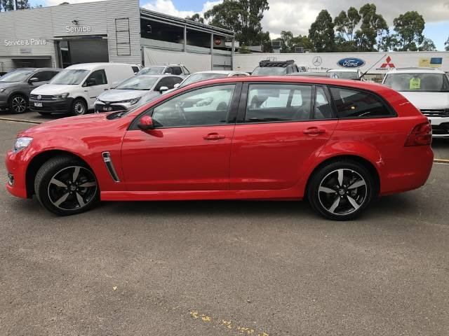 2017 Holden Commodore SV6 VF Series II MY17 RED HOT