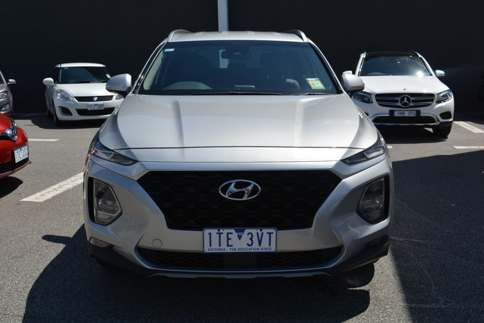 2019 Hyundai Santa Fe Active TM.2 MY20 Typhoon Silver