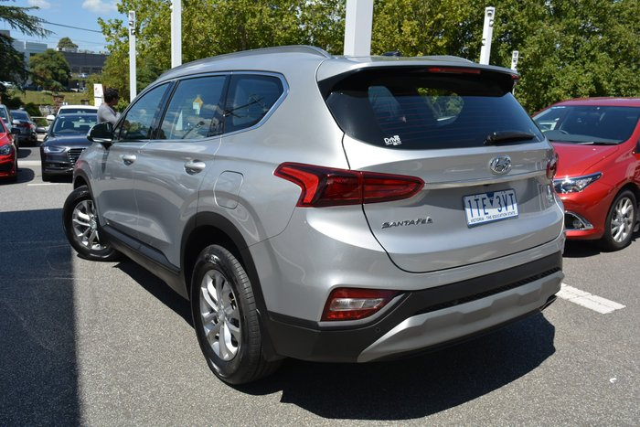 2019 Hyundai Santa Fe Active TM.2 MY20 Typhoon Silver