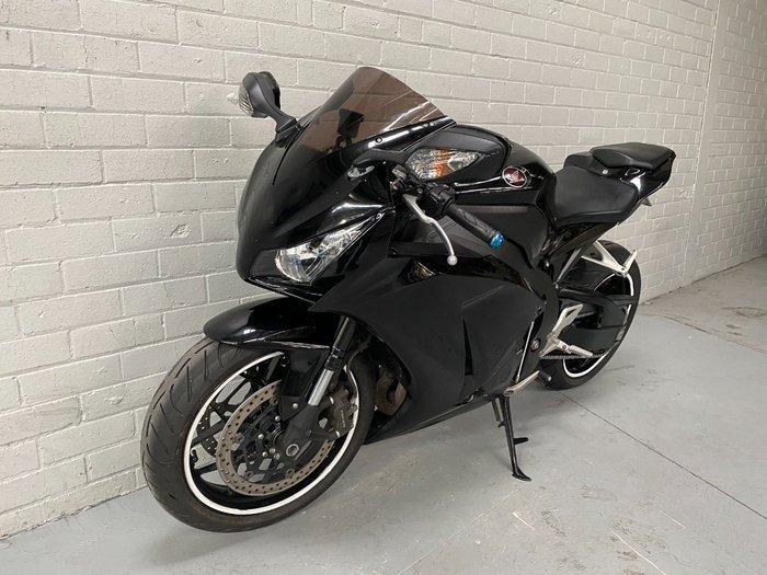 2012 Honda CBR1000RR (FIREBLADE) Black