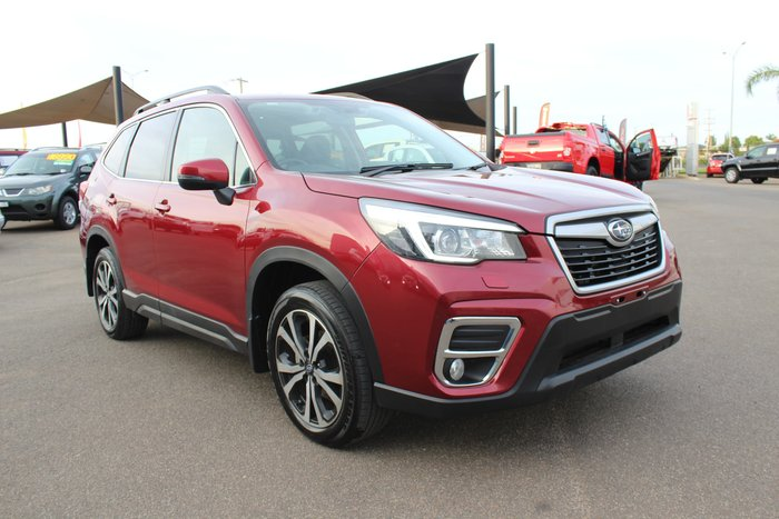 2018 Subaru Forester 2.5i Premium S5 MY19 Four Wheel Drive Crimson Red