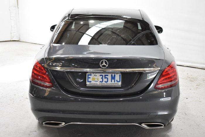 2015 Mercedes-Benz C-Class C250 W205 Tenorite Grey