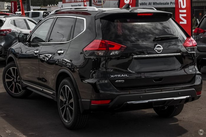 2020 Nissan X-TRAIL Ti T32 Series III MY20 4X4 On Demand Black