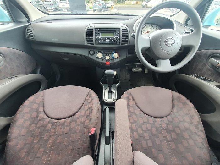 2010 Nissan Micra K12 Blue