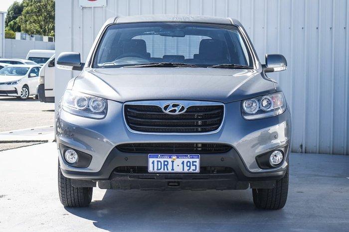 2011 Hyundai Santa Fe SLX CM MY11 4X4 On Demand Grey