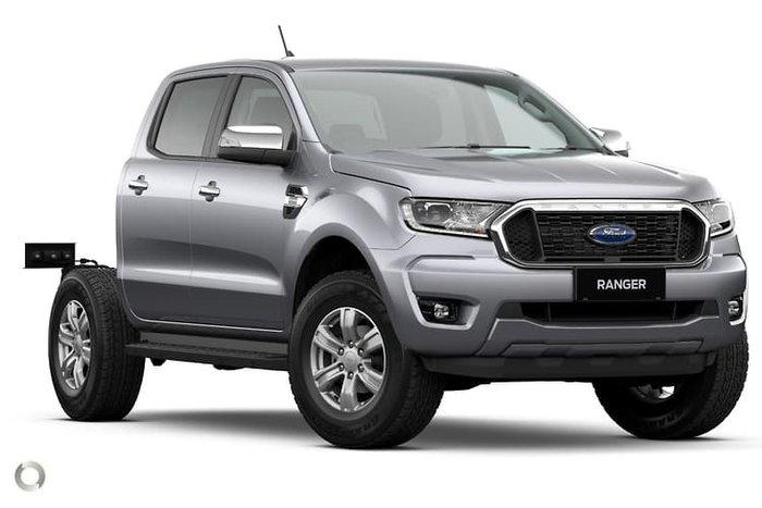 2020 Ford Ranger XLT PX MkIII MY21.25 4X4 Dual Range Aluminium