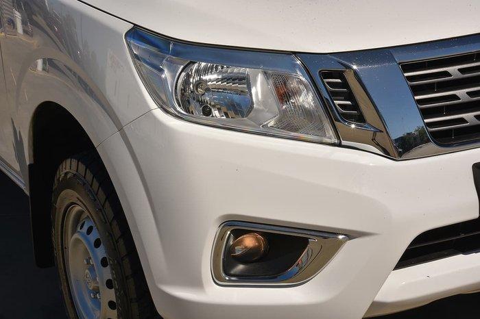 2017 Nissan Navara RX D23 Series 2 4X4 Dual Range White