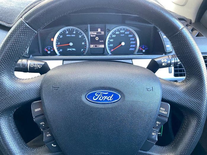 2014 Ford Falcon XR6 FG MkII Black