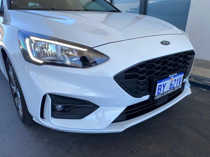 2019 Ford Focus ST-Line SA MY19.25 White