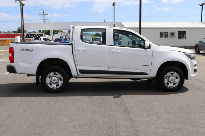 2018 Holden Colorado LS RG MY18 4X4 Dual Range White