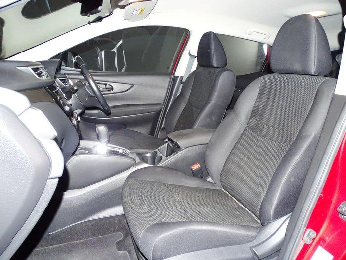 2017 Nissan QASHQAI N-SPORT J11 Red