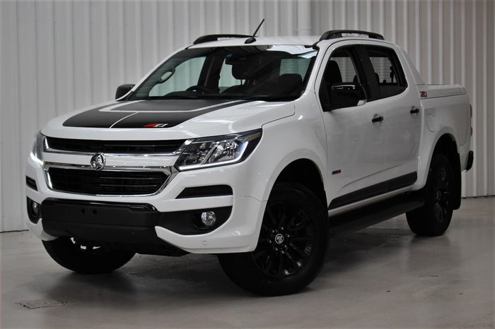 2018 Holden Colorado Z71 RG MY18 4X4 Dual Range White