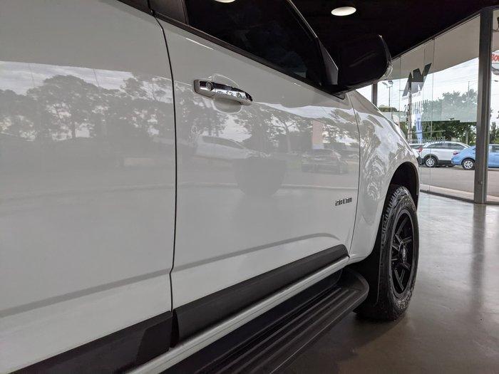 2014 Holden Colorado LTZ RG MY14 4X4 Dual Range Summit White