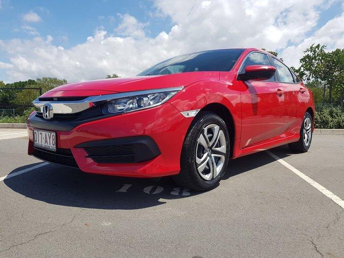 2018 Honda Civic VTi 10th Gen MY18 Red