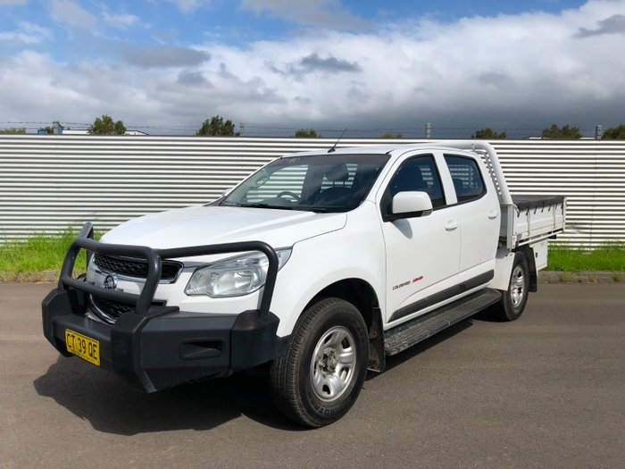 2016 Holden Colorado LS (4x4)CREW HAS RG MY16 White