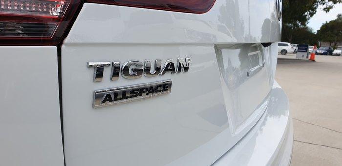 2020 Volkswagen Tiguan 162TSI Highline Allspace 5N MY21 Four Wheel Drive Pure White