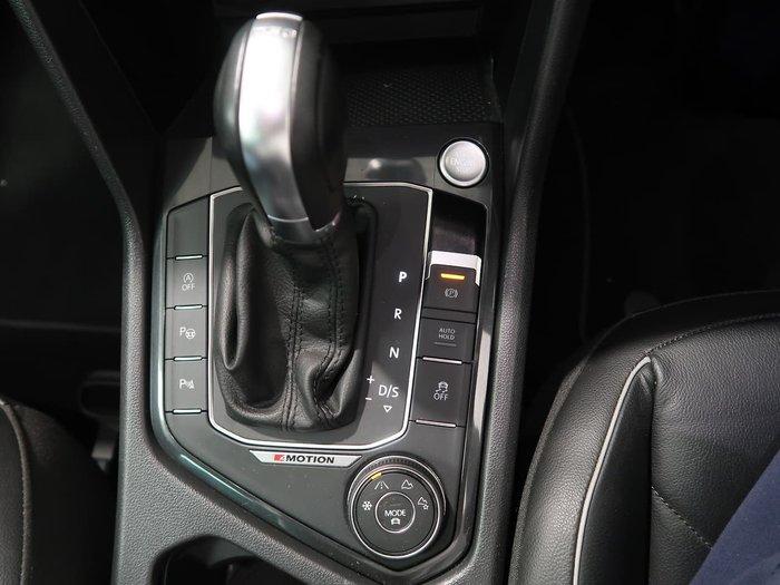 2017 Volkswagen Tiguan 140TDI Highline 5N MY18 Four Wheel Drive Silver