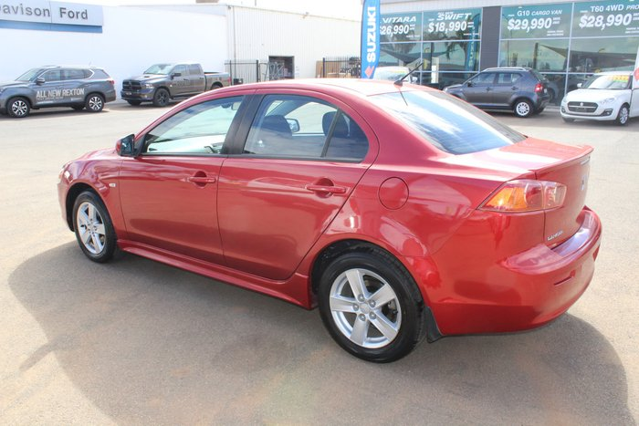 2008 Mitsubishi Lancer VR CJ MY08 Red