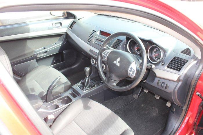 2008 Mitsubishi Lancer VR CJ MY08 Red