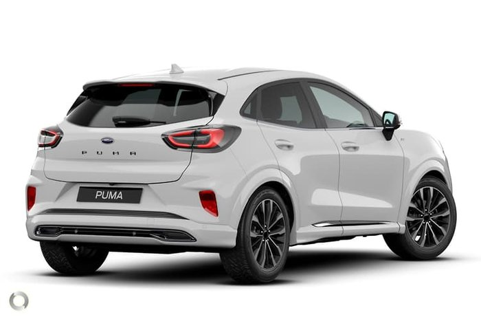 2020 Ford Puma ST-Line V JK MY20.75 Frozen White