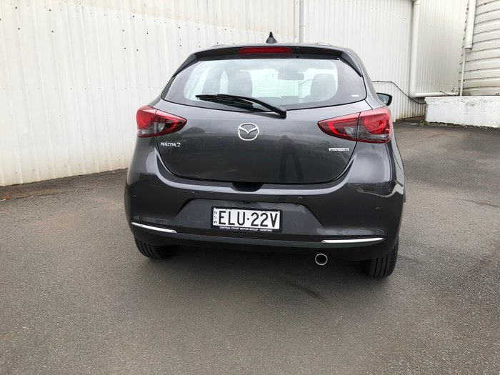 2020 Mazda 2 G15 Evolve DJ Series Machine Grey