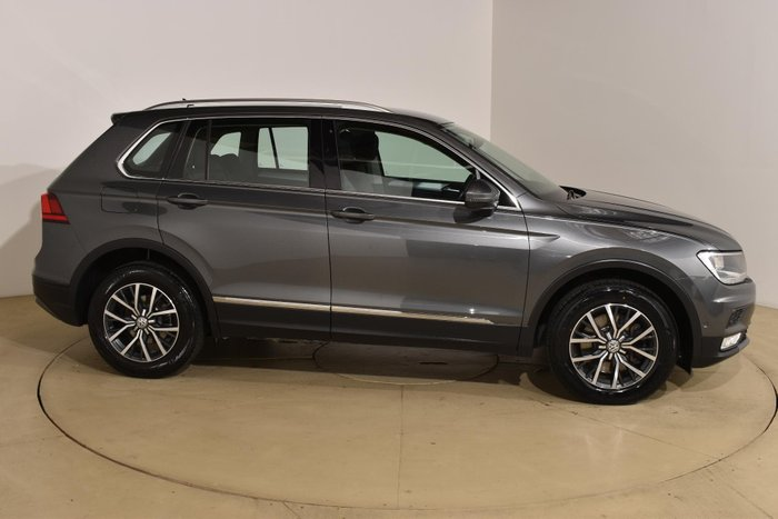 2016 Volkswagen Tiguan 132TSI Comfortline 5N MY17 Four Wheel Drive Indium Grey