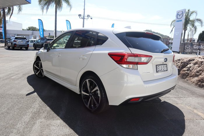 2020 Subaru Impreza 2.0i-S G5 MY21 Four Wheel Drive Crystal White