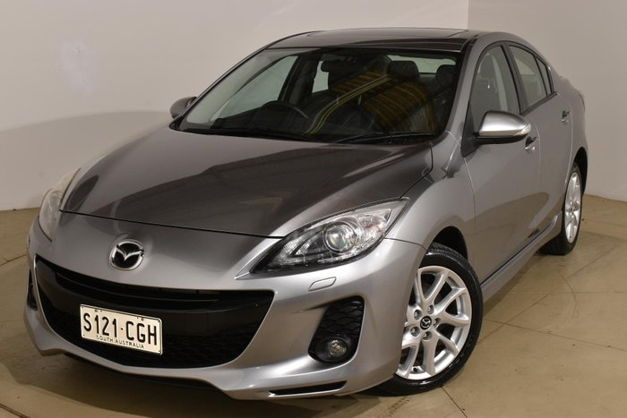 2013 Mazda 3 SP25 BL Series 2 MY13 Aluminium