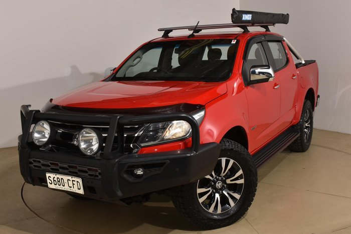 2016 Holden Colorado LTZ RG MY17 4X4 Dual Range Absolute Red