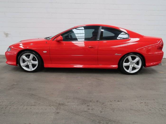 2002 Holden Monaro CV8 V2 Red