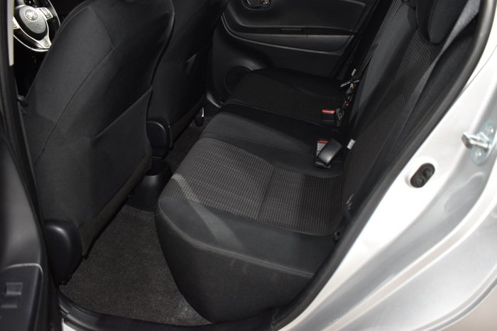 2015 Toyota Yaris SX NCP131R Silver Pearl