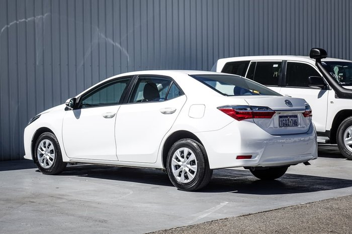 2018 Toyota Corolla Ascent ZRE172R White