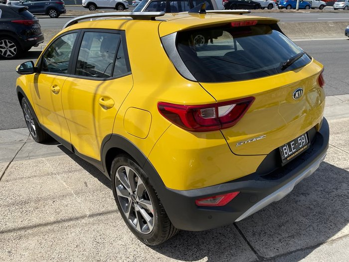2020 Kia Stonic Sport YB MY21 Yellow