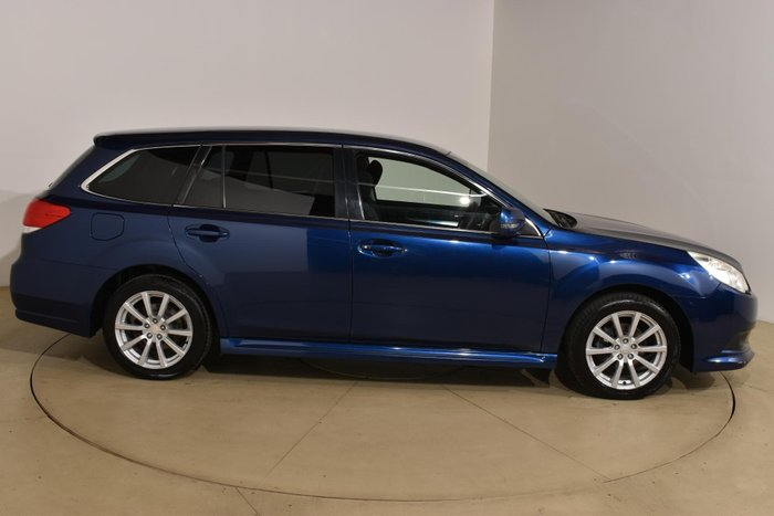 2010 Subaru Liberty 2.5i 5GEN MY10 Four Wheel Drive Galaxy Blue Silica