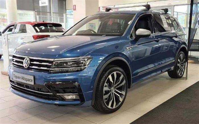 2020 Volkswagen Tiguan 162TSI Highline Allspace 5N MY21 Four Wheel Drive Blue