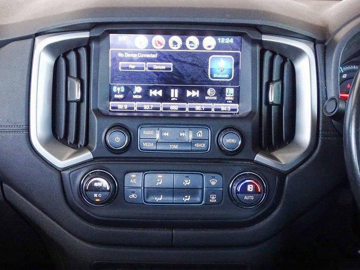 2017 Holden Colorado Z71 RG MY18 4X4 Dual Range White