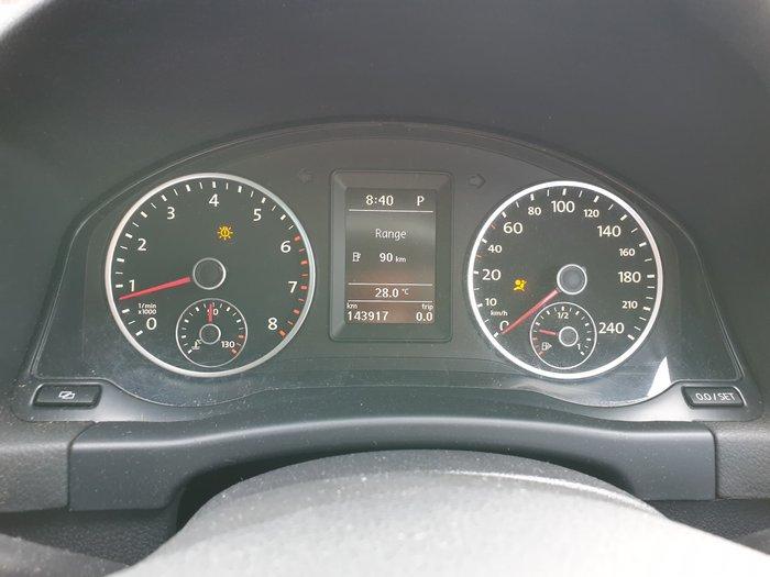 2011 Volkswagen Tiguan 147TSI 5N MY11 Four Wheel Drive Candy White