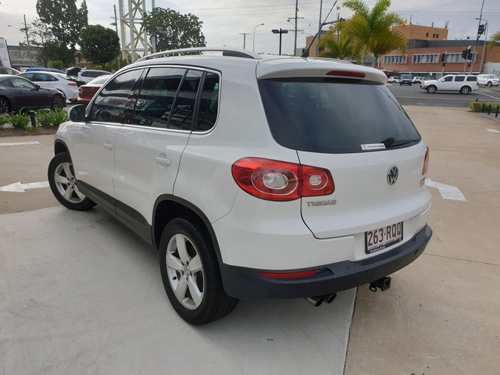 2011 Volkswagen Tiguan 147TSI 5N MY11 Four Wheel Drive Candy White