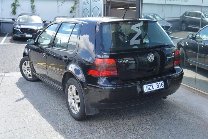 2004 Volkswagen Golf Generation 4th Gen MY04 Black