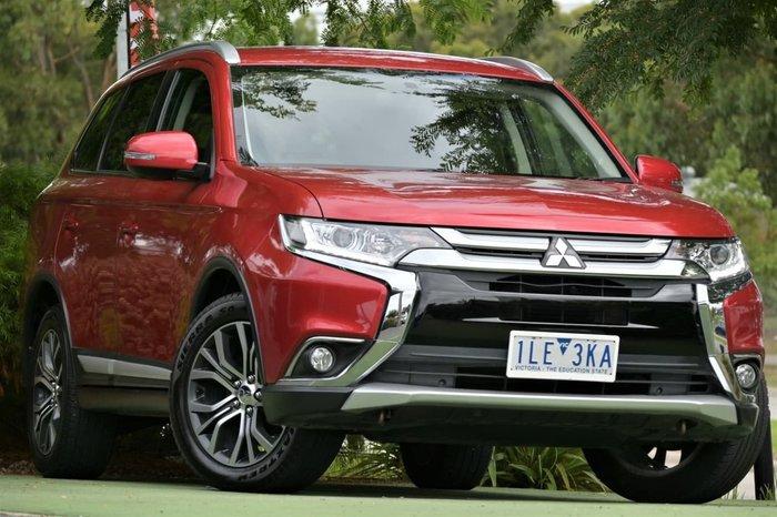 2017 Mitsubishi Outlander LS ZK MY17 Red
