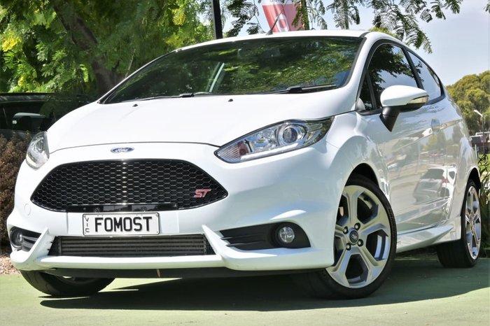 2016 Ford Fiesta ST WZ White