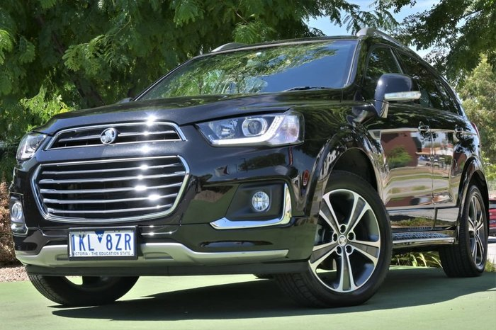 2017 Holden Captiva LTZ CG MY17 4X4 On Demand Black