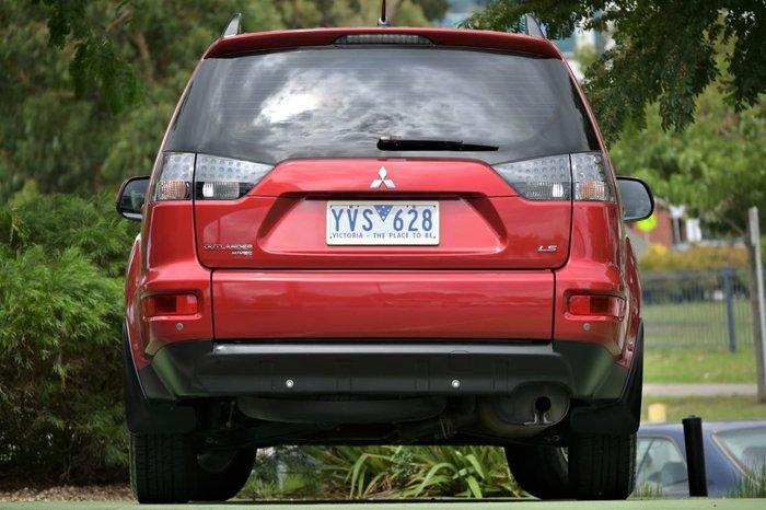 2012 Mitsubishi Outlander LS ZH MY12 Red