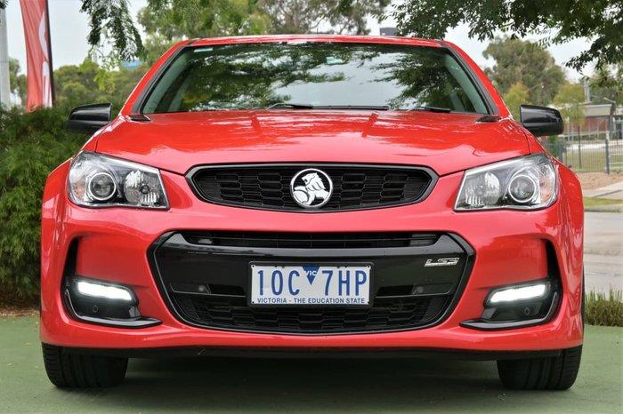 2017 Holden Commodore SS V Redline VF Series II MY17 Red