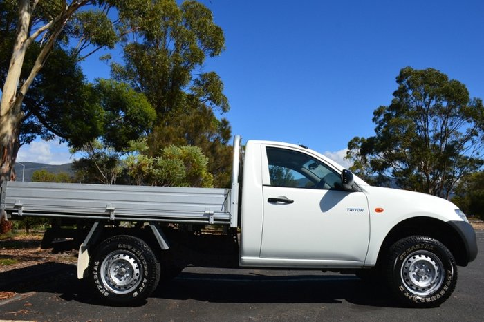 2008 Mitsubishi Triton GL ML MY08 WHITE